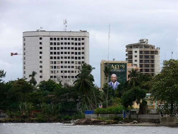 Gabon, most developed sub-Saharan African country